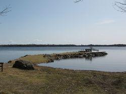 Samfällighetens marina och badplats / Common marina and beach